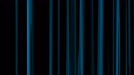 vertical stripes : 4k loopable blue abstract vertical speed light background,shining bokeh lights,seamless loop.