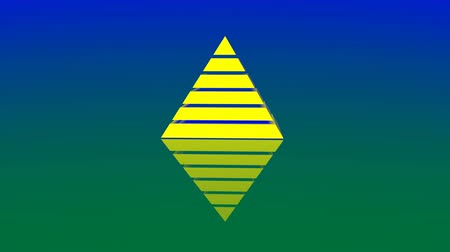 hierarchy : 4k Pyramid triangle geometry design