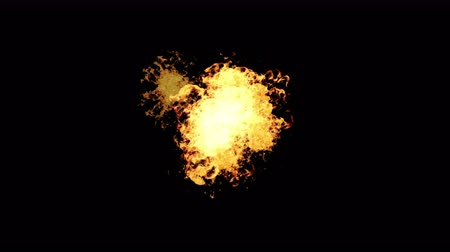 мозговая атака : 4k Hot fire burning background,Abstract powerful explosion particle smoke power firework energy.