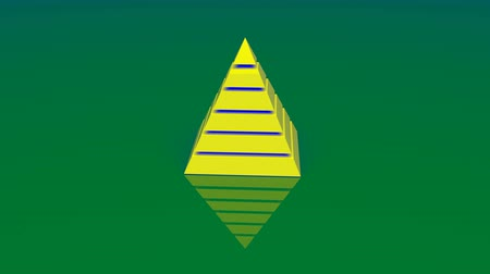 věčnost : 4k Pyramid triangle geometry design Ethereum element abstract ether object mystery background.