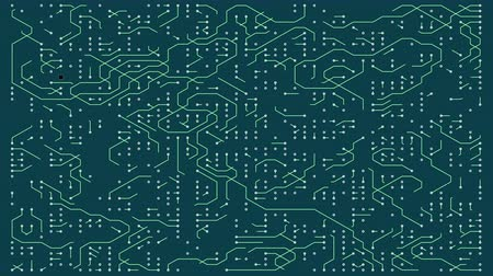 tranzistor : 4k a futuristic circuit board with moving electrons,electronic connections,communication,futuristic technology.