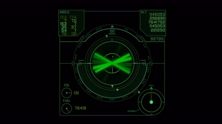 meridian : 4k Radar GPS signal tech screen display,future science sci-fi data computer game navigation dashboard HUD technology interface background.