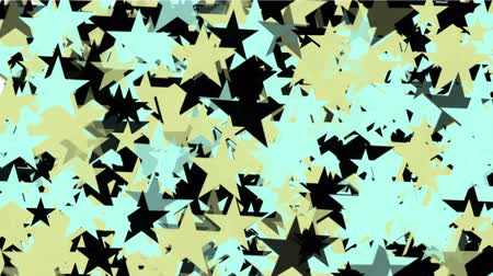 špičatý : 4k Abstract stars particles background,cartoon USA United States American flag five-pointed star backdrop. Dostupné videozáznamy