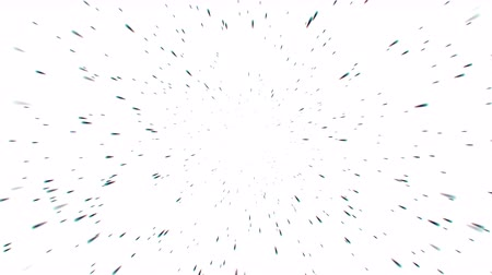 particle system : 4k explosion particles in Universe,bullet flying in space. Stock Footage