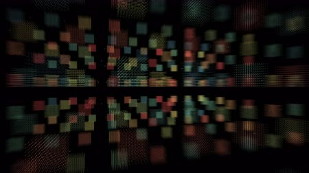 continuity : 4k Tech wall graphics,Abstract fractal lines mesh geometry.intersecting creativity,virtual artistic,dynamic perspective geometry space,pinstripe structure,computing progress. Stock Footage