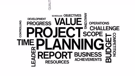 タグクラウド : Project Planning Word Tag Cloud Animation,work team teamwork,market research.