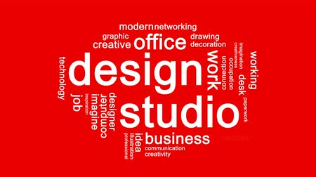 papeteria : Design Studio Animated Word Cloud,Text Design Animation.