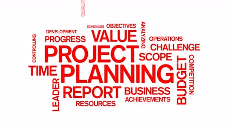 completion : Project Planning Word Tag Cloud Animation,work team teamwork,market research.