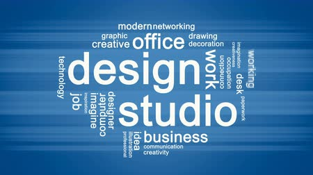 aspirace : Design Studio Animated Word Cloud,Text Design Animation.