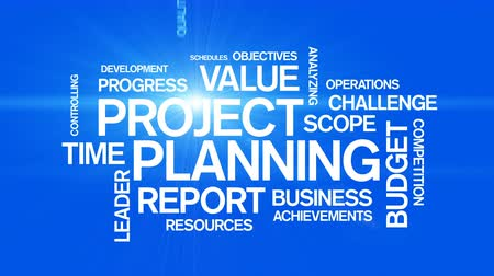 escopo : Project Planning Word Tag Cloud Animation,work team teamwork,market research.