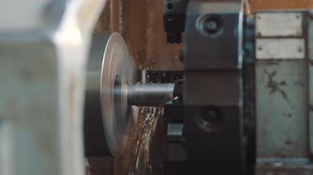 fitter : CNC milling machine on a factory