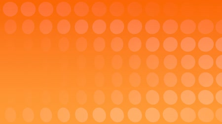 visual effect : Orange Background with rotating Discs, useful foir many different Applications (3d Rendering and Loopable) Stock Footage
