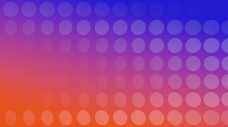 visual effect : Orange-Blue Background with rotating Discs, useful foir many different Applications (3d Rendering and Loopable)