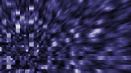 Blue Background with blurred Blocks, the File is Looping (Computer Graphic)