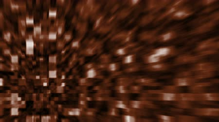 Brown Background with blurred Blocks, the File is Looping (Computer Graphic) Стоковые видеозаписи