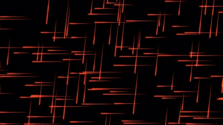 Glowing Red Particles with Traces on a Black Background, the File is looping and 3d Rendered