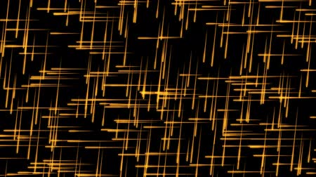 Glowing Orange Particles with Traces on a Black Background, the File is looping and 3d Rendered