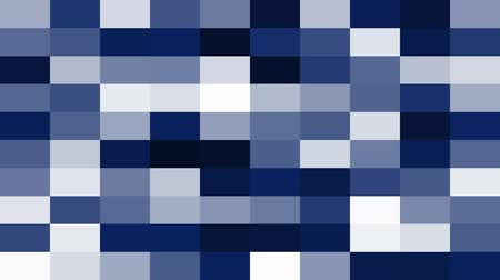 Geometric Background with Blocks, like a Mosaic (Looping File) Stock Footage