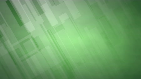 Green Background with diagonal Geometric Forms in 4K, useful for Business, Advertising, Entertainment, Broadcasting and many others (Loopable and 3D Rendering) Stock Footage