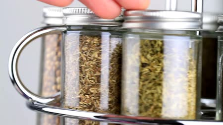 spices : spice rack being used