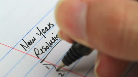 new years resolution writing