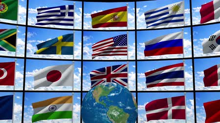 bandeira : World flags.