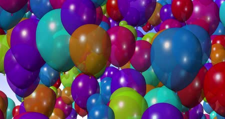 balonlar : Colorful Balloons 4k