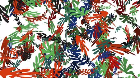 versiyon : A 30 second animation of Matisse style leaves blowing across the screen. The matte version is added as well to enable keying option via the Luma Matte in Aftereffects. The video is in 4k format.
