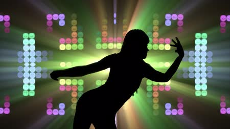 discotheque : Club dancer silhouette