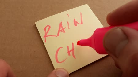 cortes : take a rain check hand writing on check then taking away tell someone that you cannot accept an invitation now, but would like to do so at a later time