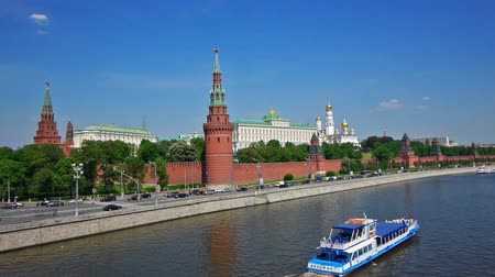 moszkva : Moscow Kremlin, classic viewf from Big stone bringe