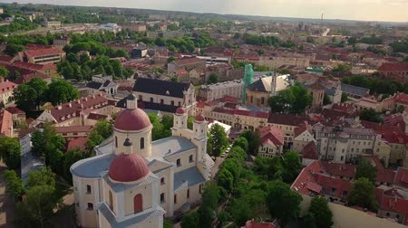 fronts : Vilnius old town video
