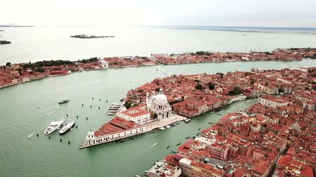wenecja : Drone video - Aerial view of Venice Italy Wideo