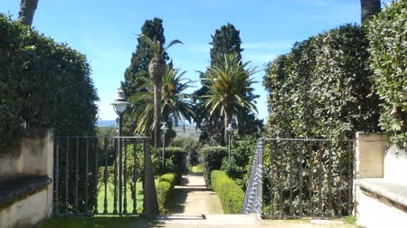 sardinie : The park of Monserrato inside the city of Sassari - Sardinia in a sunny day of spring