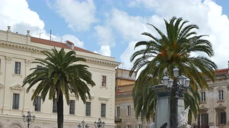 sardinie : A view of Italy in a cloudy day of spring