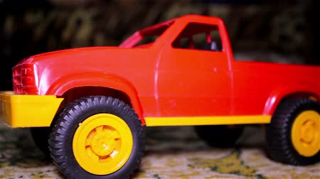 toy : toy car pickup Stock Footage