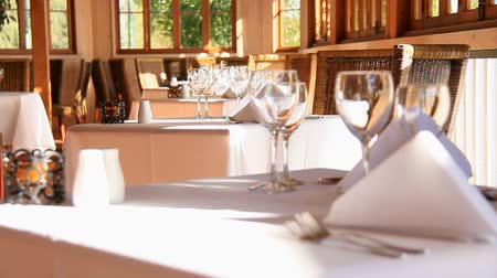 setting : Restaurant dining setting