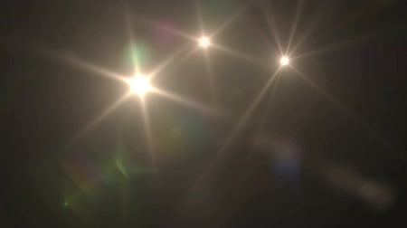 teatral : Flash Camera Lens Flare Paparazzi Photographers FX Stock Footage