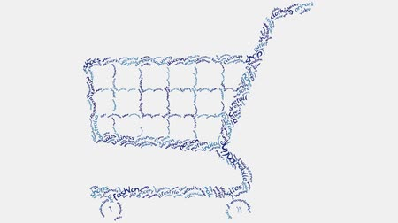 kordé : Shopping cart retail consumer shopping word cloud text typography