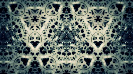 Cogwheels Kaleidoscope Abstract Background - abstract motion graphics with gears mechanism. It is perfect to use on vj performances, industrial or steampunk parties, disco etc. Seamless loop will help extend video to any length.