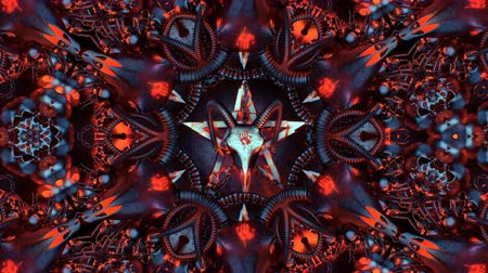 Devil Sign Mandala This motion graphic features a moving devil heads. It is perfect for VJ thematic sets, metal and gothic festivals and Halloween parties. Add this to TV and movie sequences, video games, vlogs, and social media posts. Layers may be added Dostupné videozáznamy