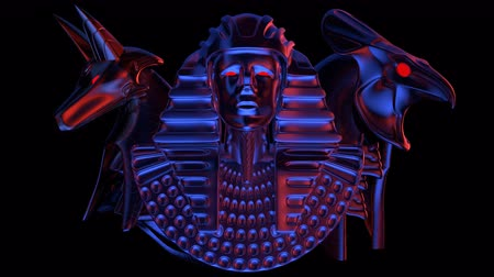 faraon : Horus Head VJ Loop - is a stunning ancient motion graphic illustration with a close-up view of Egypt. Perfect to use in the ancient videos, Egypt graphics, thematic VJ sets, futuristic sceneries, movie trailers and much more!