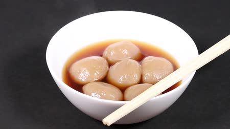 oden : Japanese food, simmered konjac