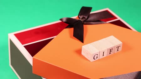 thank you : the image of gift boxes