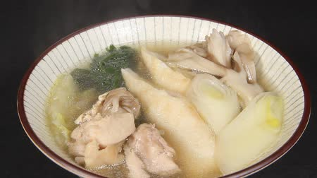 rice cake : Japanese winter food, Kiritanpo