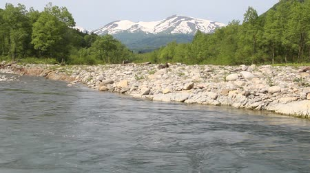mt : Sagae River and Mt. Gassan