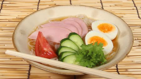 cucumber : Japanese food, Cold noodles