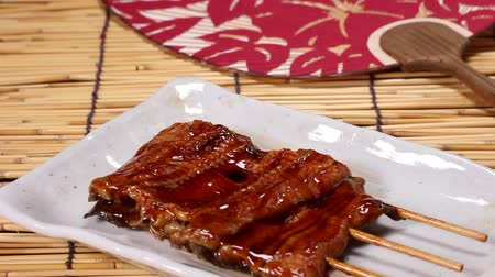 paling : Kabayaki, japanese food, roasted eel with sauce