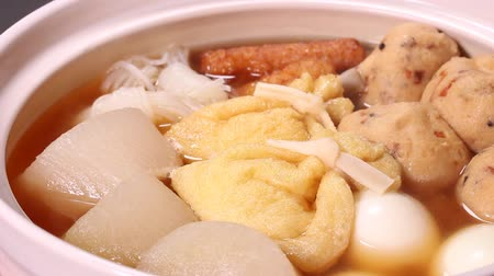 daikon radish : Oden (Japan cuisine) Close up
