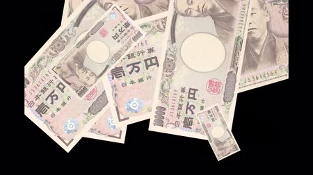 dez : 10000 yen bills that appear one after another